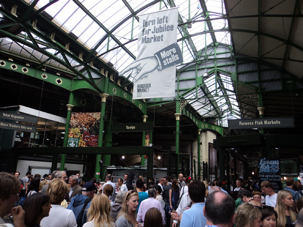 Borough Market: explosão de sabores no centro de Londres