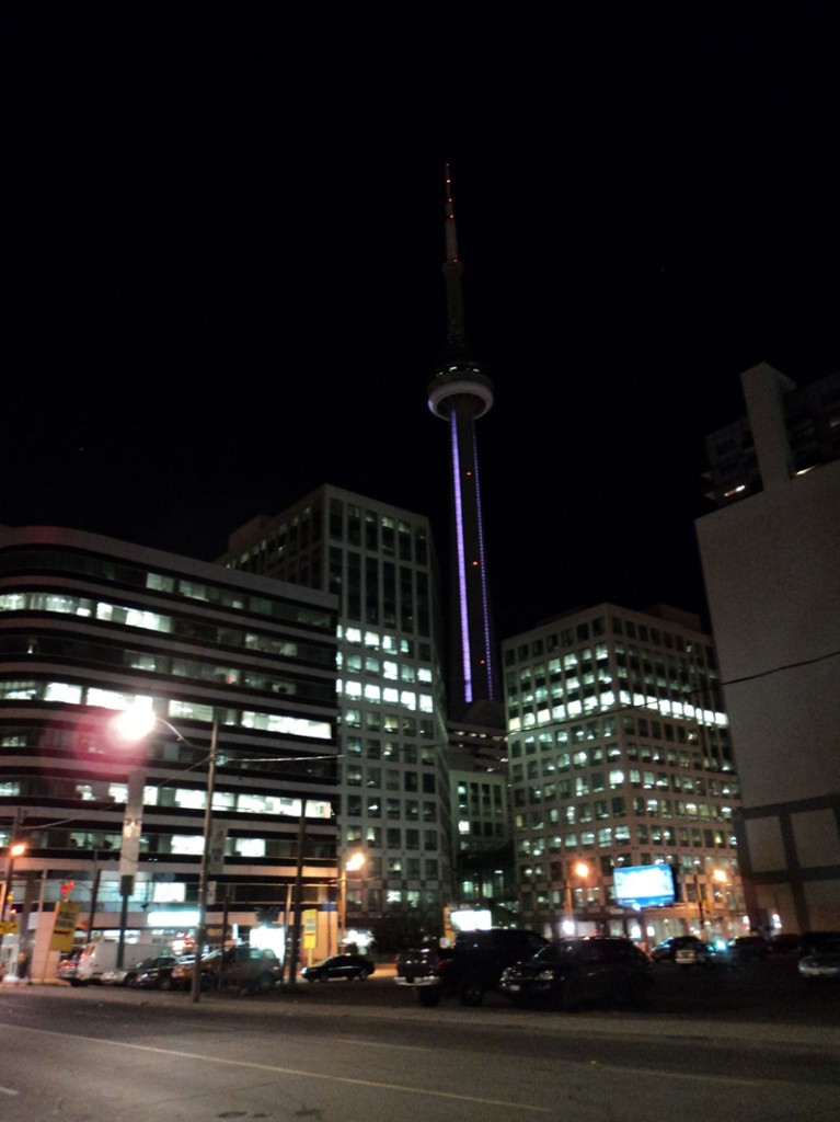 a imponente CN Tower