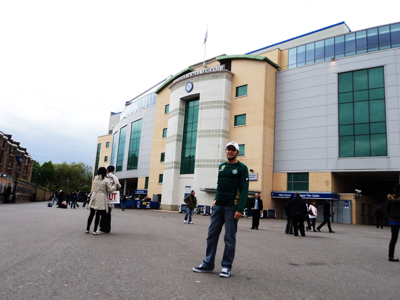 entrada principal do Stamford Bridge