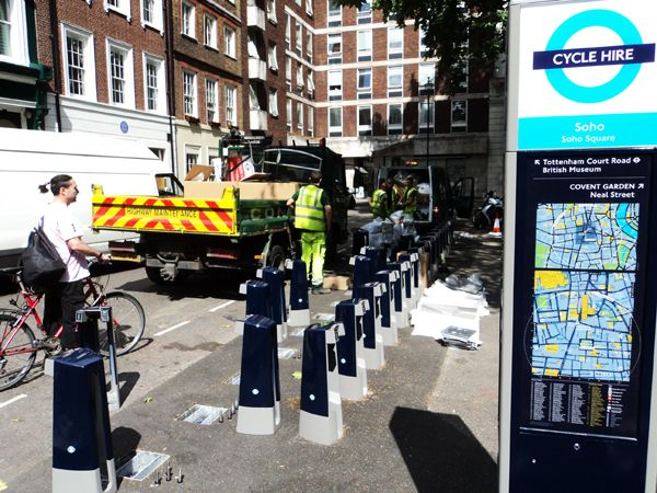 Bastidores do Cycle Hire: o projeto das bicicletas como alternativa ao caos urbano