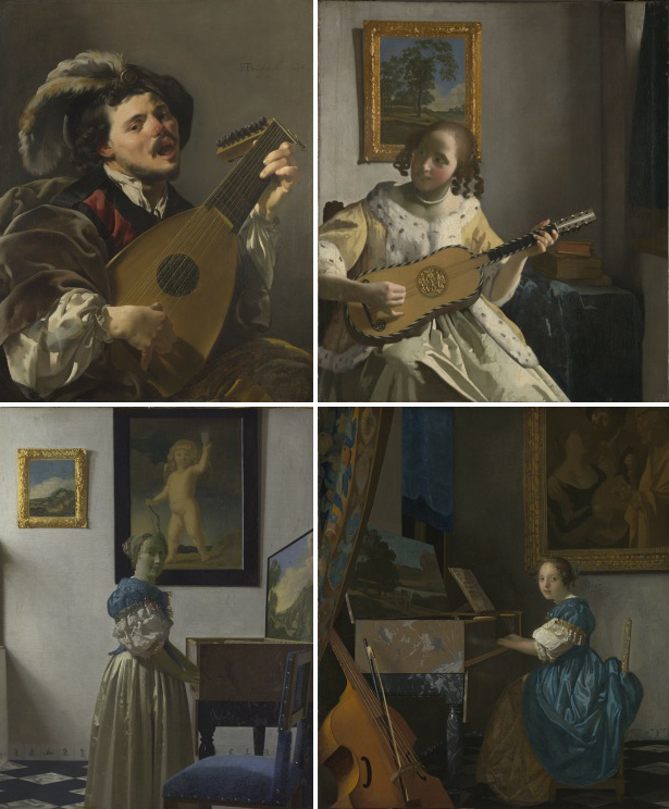 Vermeer and Music - The Art of Love and Leisure -