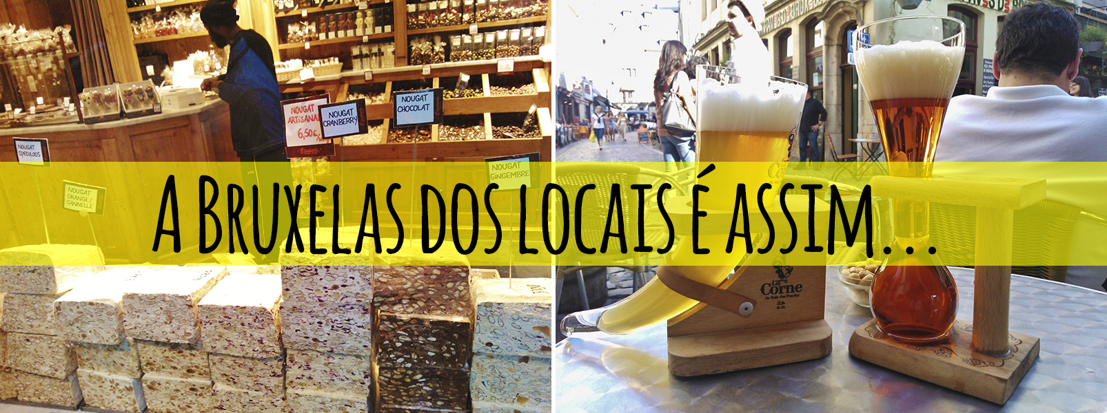Act like a local – Bruxelas