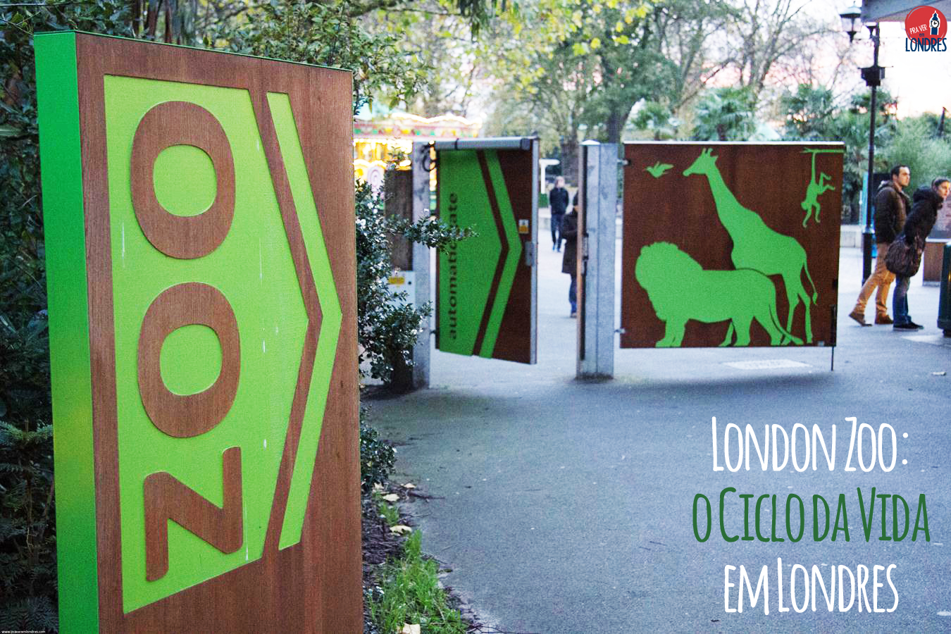 London Zoo: o ciclo da vida em Londres