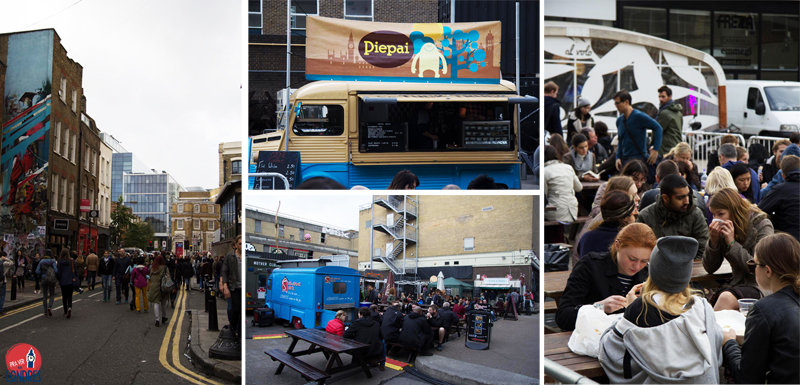 Brick Lane - London - food truck