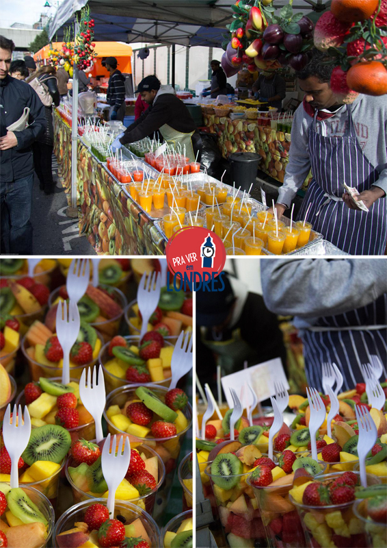 Brick Lane - London - fruits