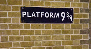 Harry Potter em Londres: Plataforma 9 3/4
