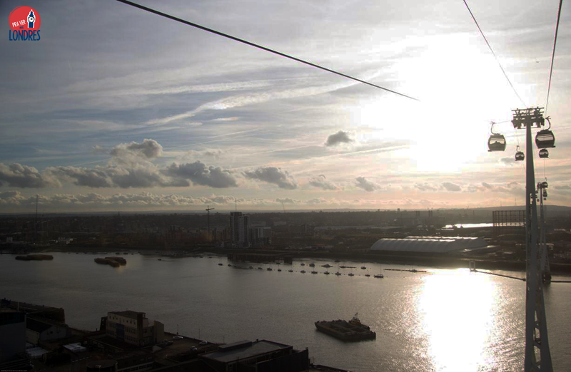 London from Emirates Air Line