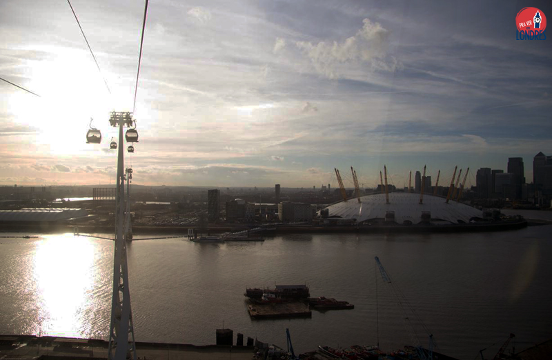 O2 from Emirates Air Line