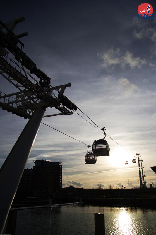 Pra Ver Londres - Emirates Air Line