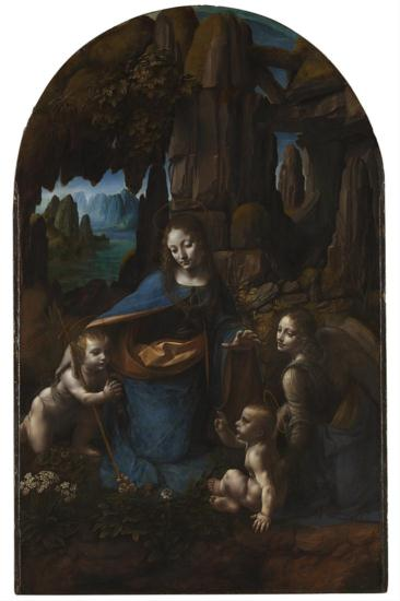 The Virgin of the Rocks - Leonardo Da Vinci (!)