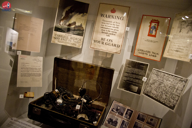 Secret War - Imperial War Museum - London-