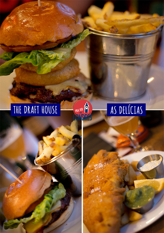 The Draft House - o que comemos