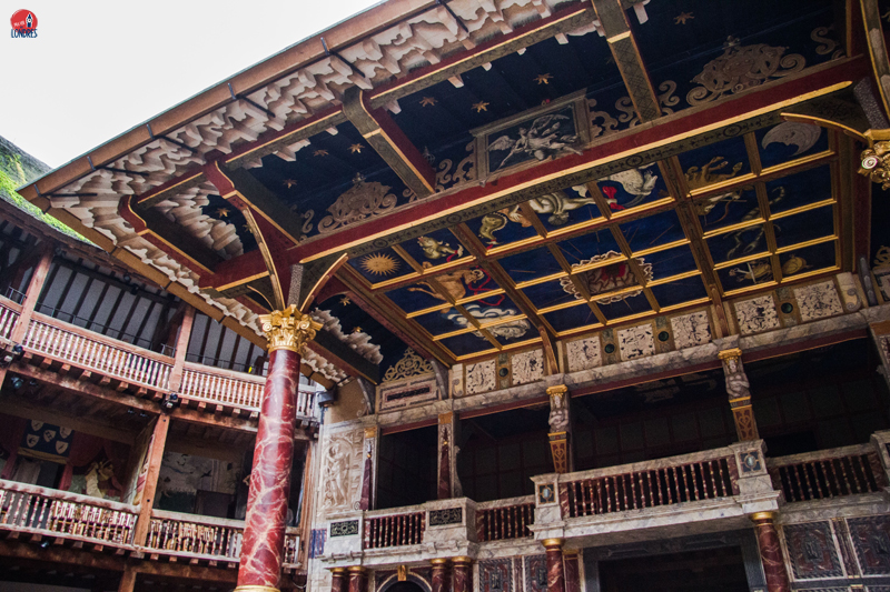 Shakespeare's Globe Londres - palco
