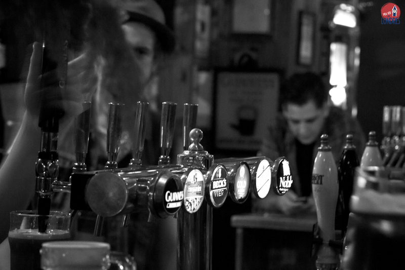 The Hawley Arms - beers on tap -pb