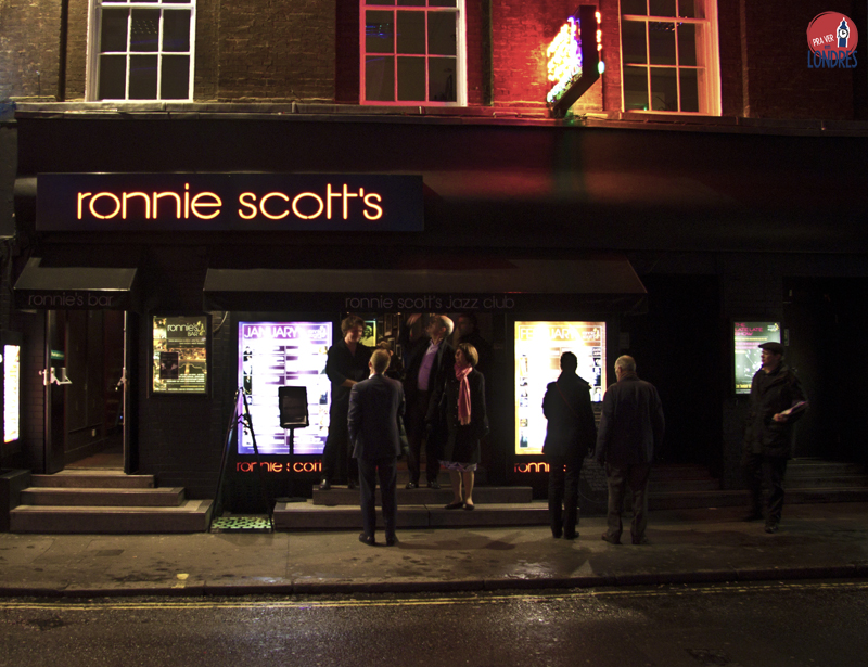 Jazz em Londres é no Ronnie Scott's Jazz Club!