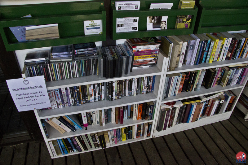 Surrey Docks Farm - book sale