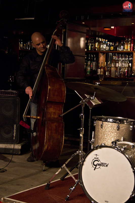 bass and drum - Ronnie Scotts - London