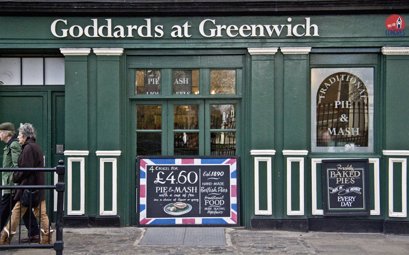 Goddards at Greenwich - pie and mash