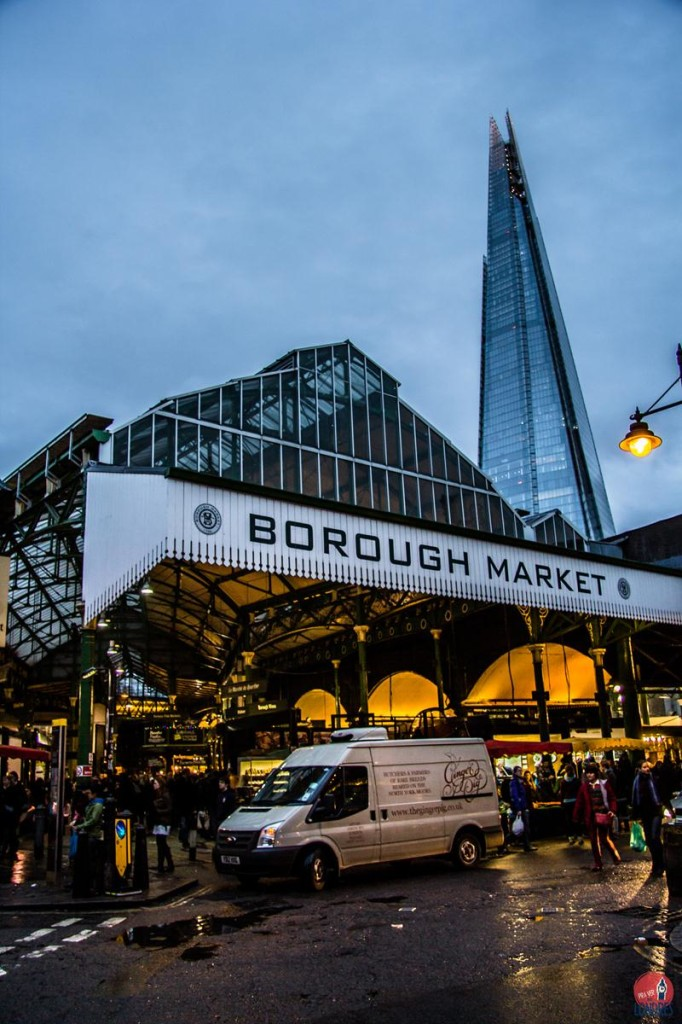 Borough Market - mercado de rua - Londres