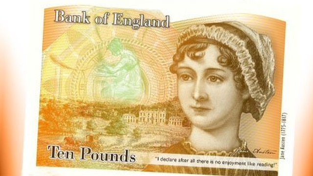 ten pounds - jane austen