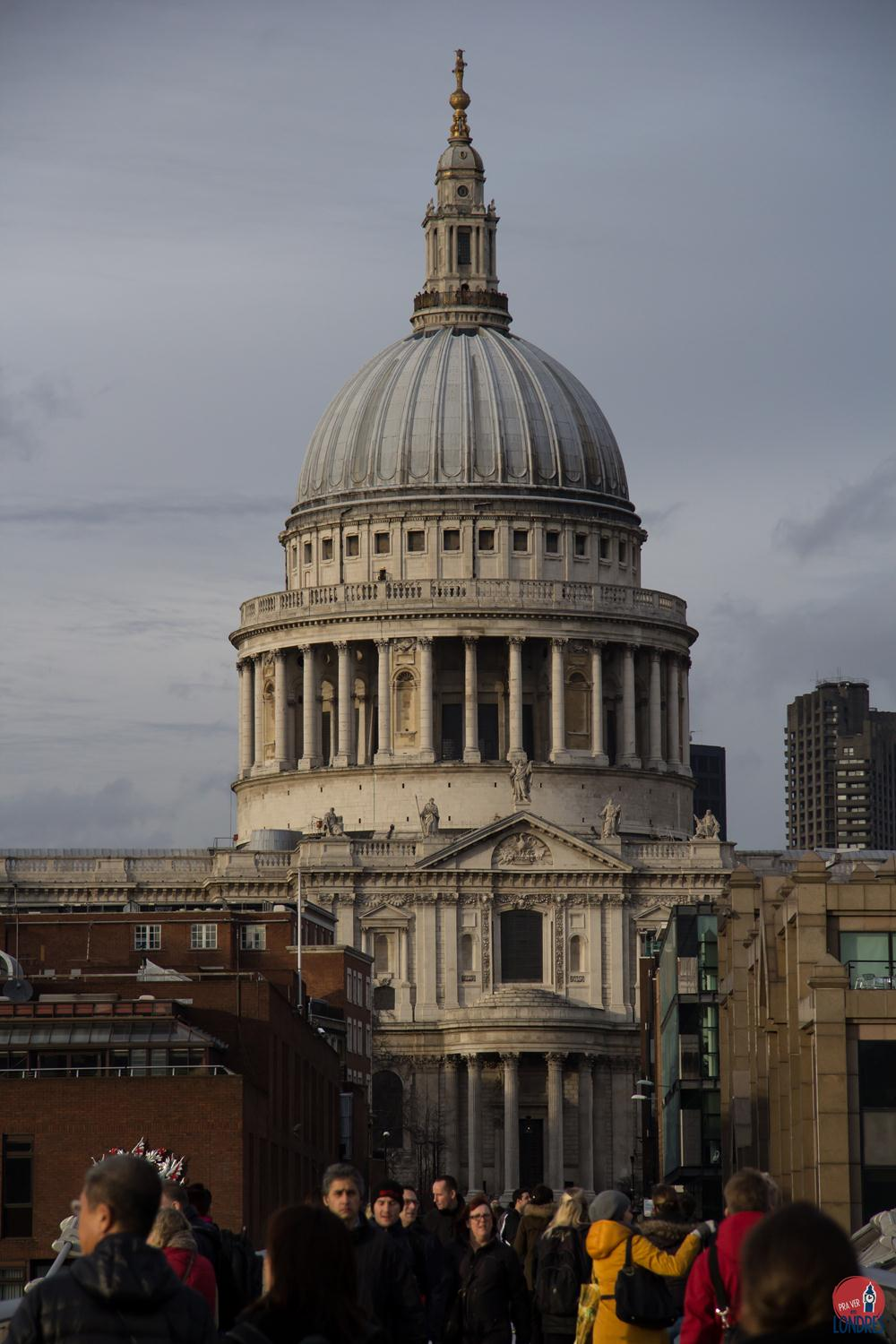 tate modern - museu em londres - st. paul's cathedral