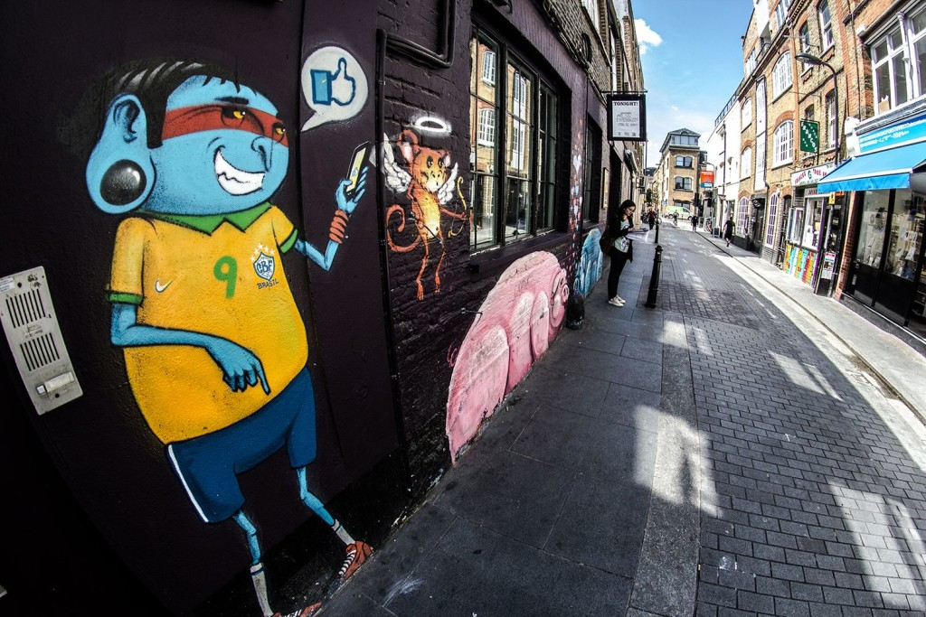shoreditch - londres - osgemeos