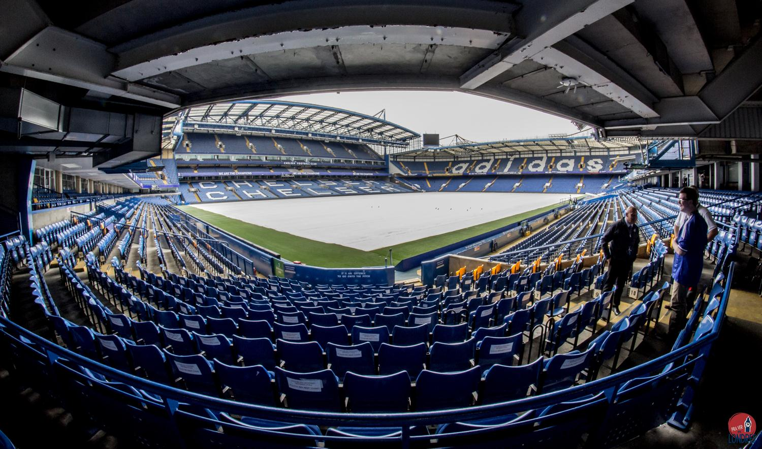 Por dentro do estádio do Chelsea em Londres