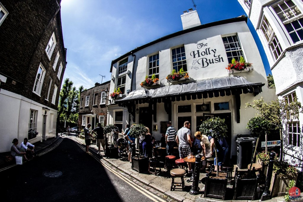pubs em londres - the holly bush - hampstead