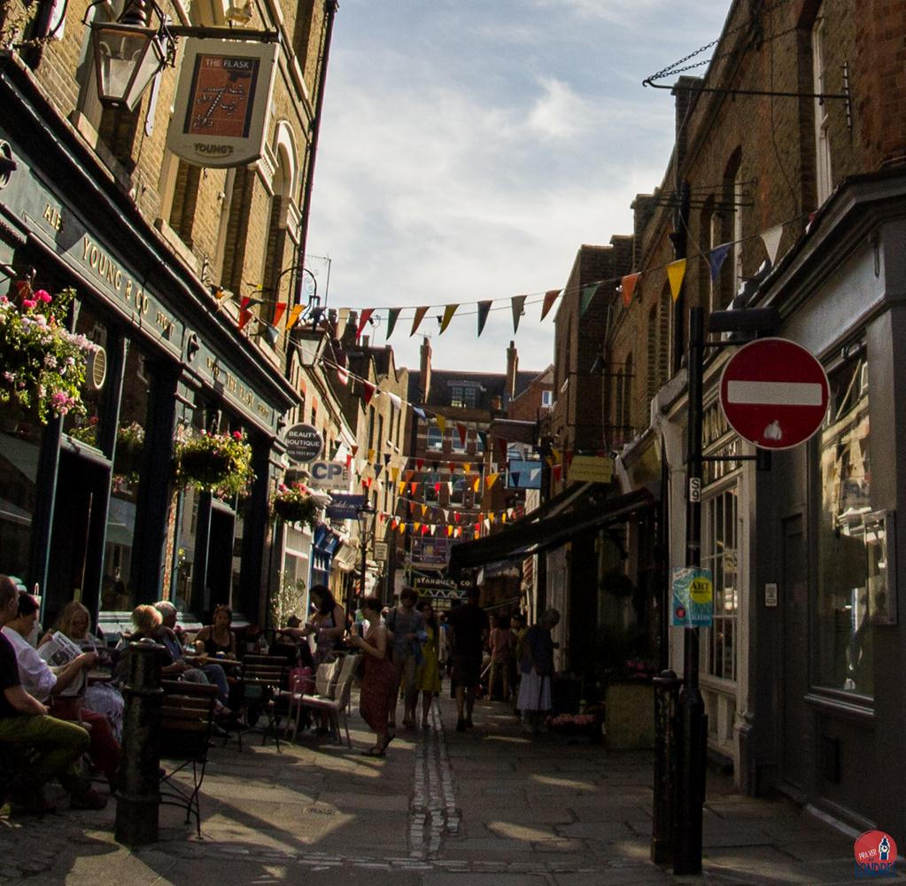 bairros de londres- hampstead - flask walk