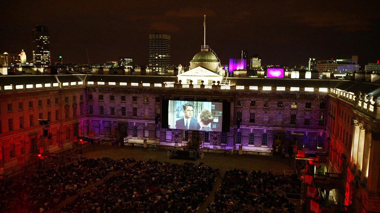 cinema em Londres_ Film4 Summer Screen at Somerset House