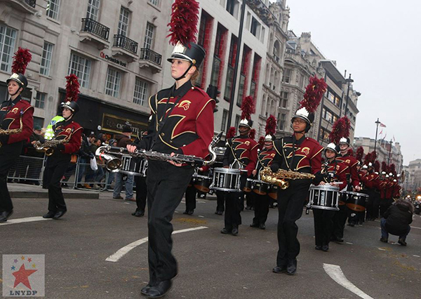 london new year parade