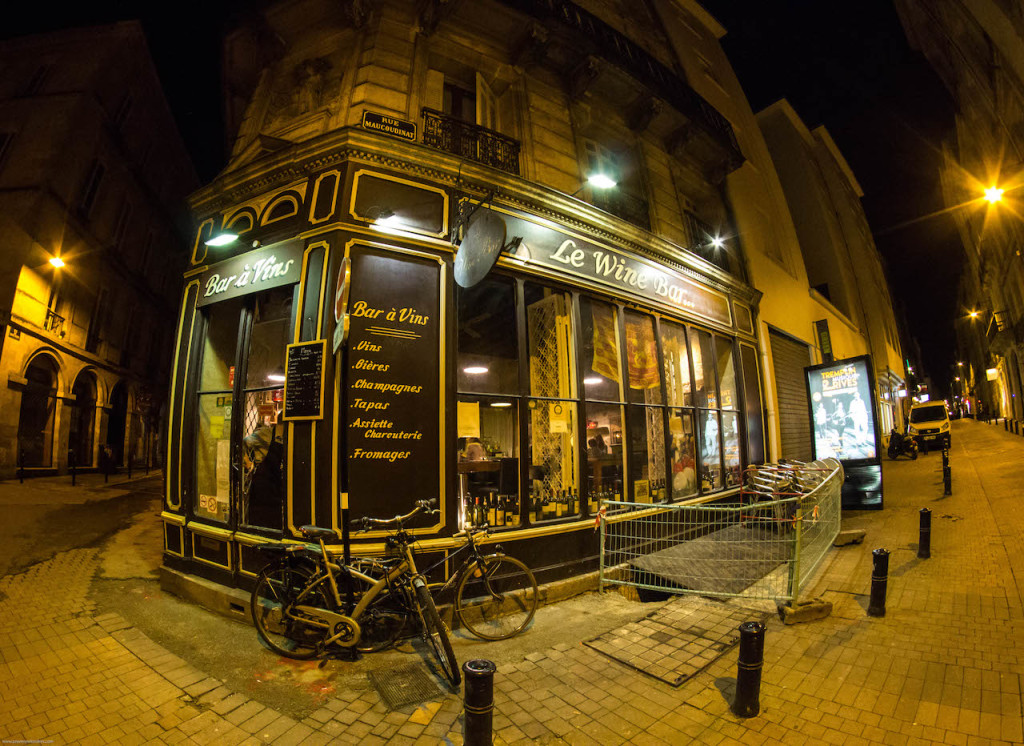 Bordeaux - le wine bar
