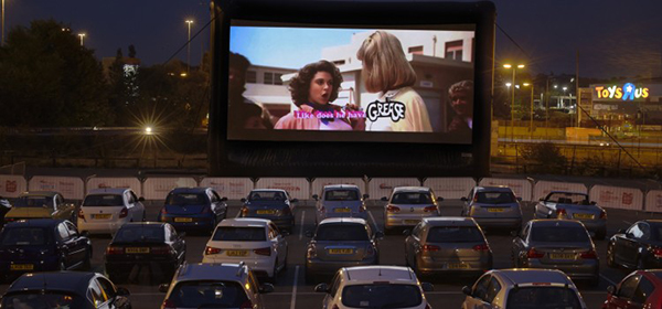 drive in fil club londres