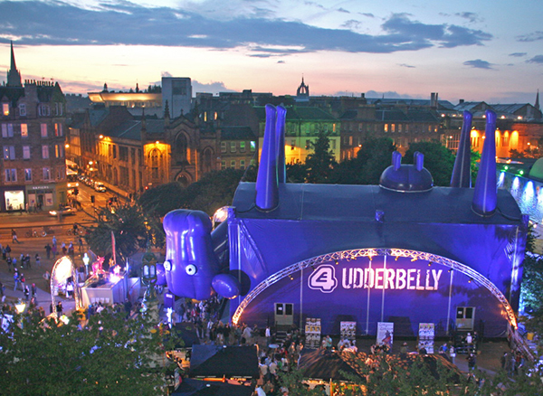 UdderBELLY by night