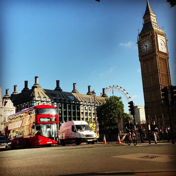 Londres - Parliament Square