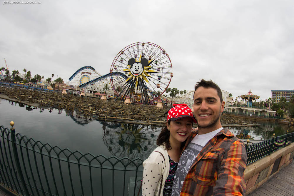The happiest place on earth - O lugar mais feliz da terra. Eu concordo! :)