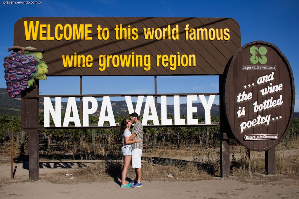 napa valley - vinhos na california