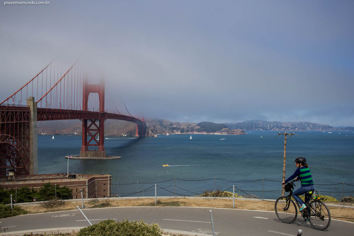 pedal em san francisco - golden gate bridge