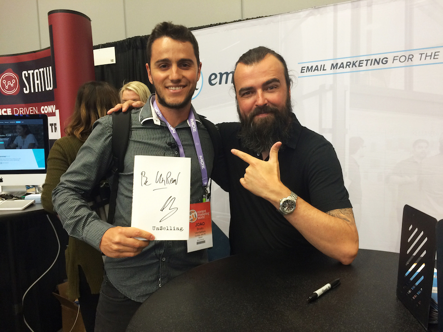 Content marketing World - Unmarketing - scott strattenjpg